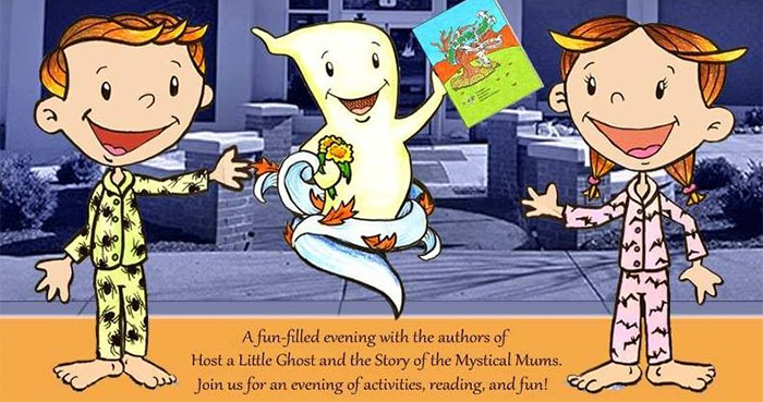 Host a Little Ghost and the Story of the Mystical Mums